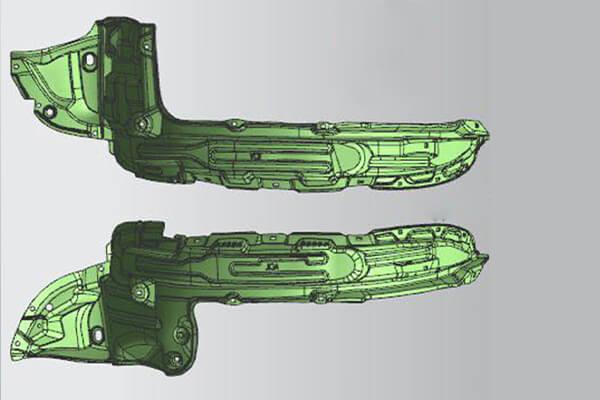 3D Fender Liner Design