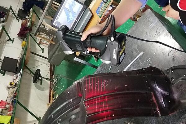 Fender Liner 3D Scanner