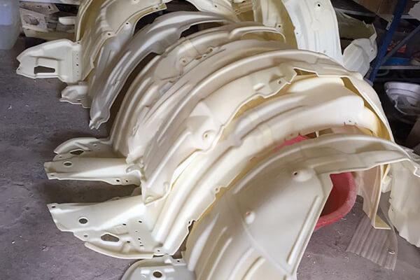Fender Liner 3D Scanning Molds